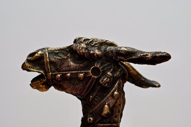 Japan Superb Old Bronze Hand Carved Dragon Collect Statue Cane Walking Stick